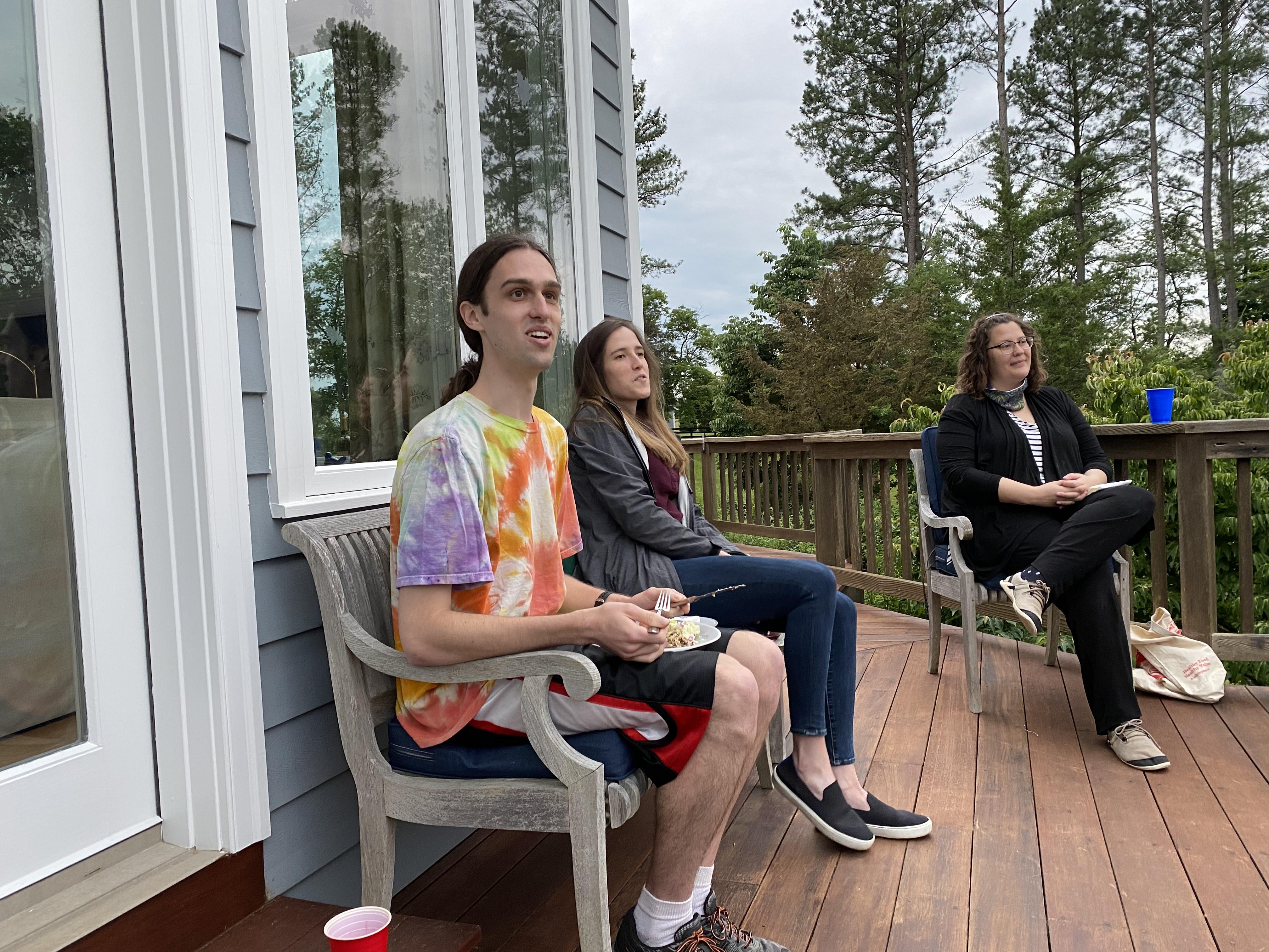 Ian, Lee, and Christina