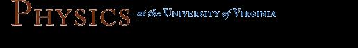 UVA Physics