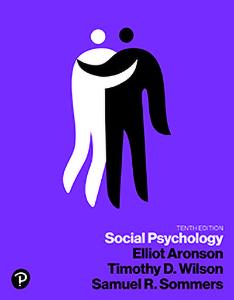Social Psychology, Tenth Edition